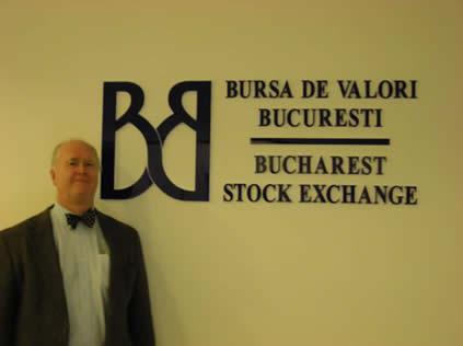 Bullish Bob at Bucharest Stock Exchange1