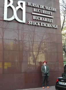 Bullish Bob at Bucharest Stock Exchange2